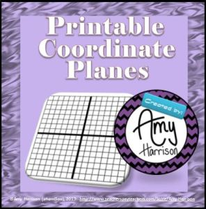 printablecoordinateplanespurple
