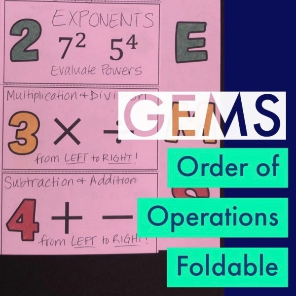 GEMS Foldable