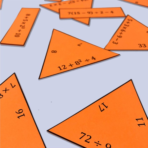 6.EE.A.1 Order of Operations Puzzle