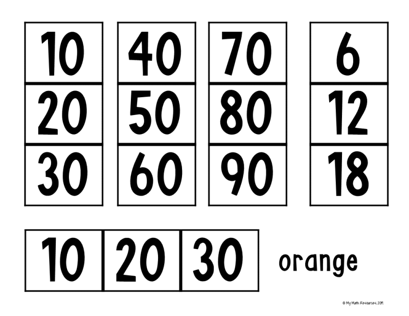 Download this FREE Printable Multiplication Table!  WARNING: This will take a long time to assemble!