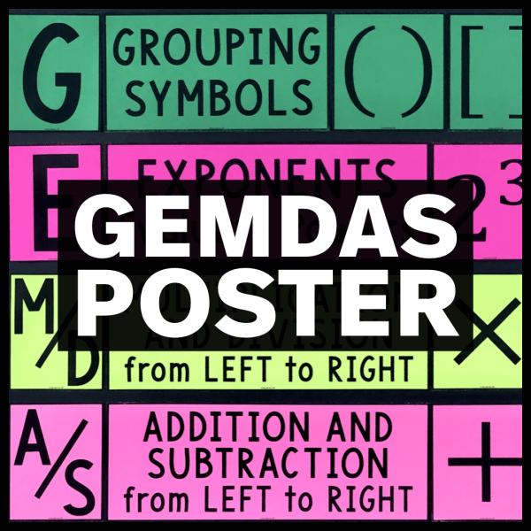 GEMDAS Poster