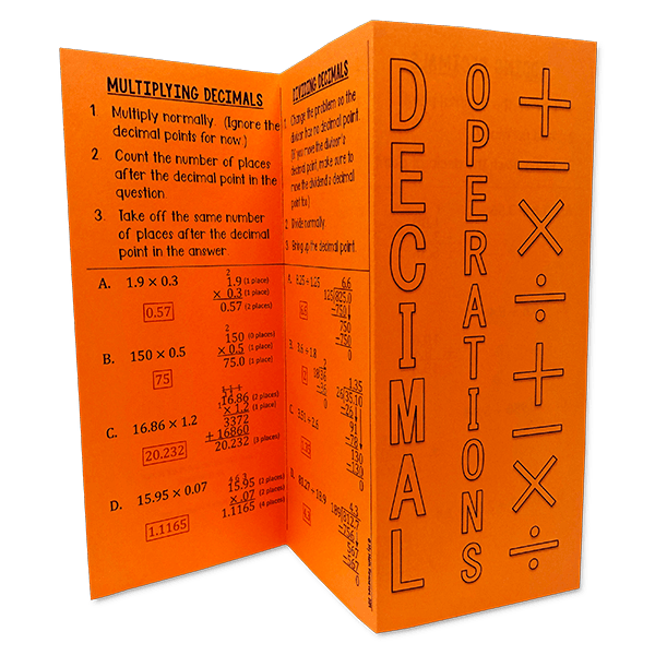 These middle school foldables are great for your interactive math notebook!  Much more engaging than traditional note taking.  Your jr. high math class will LOVE foldables!