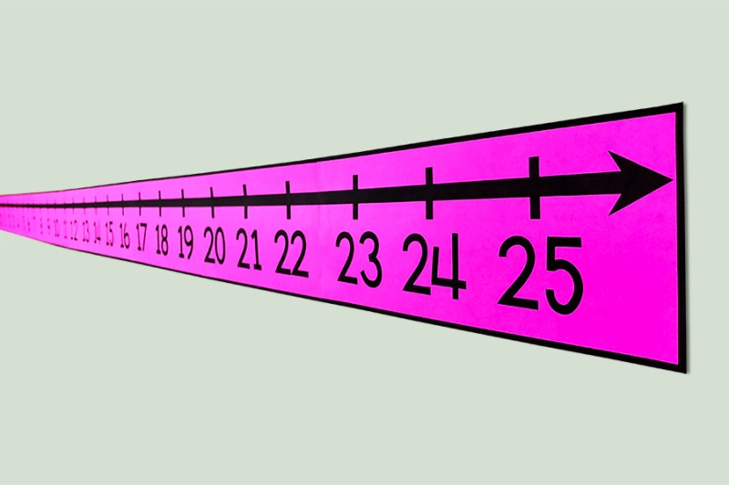 Every math class needs a number line!  This resource contains two printable number lines - one horizontal and one vertical!