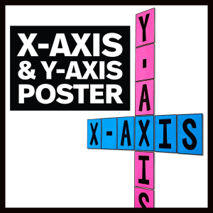X-Axis and Y-Axis Poster