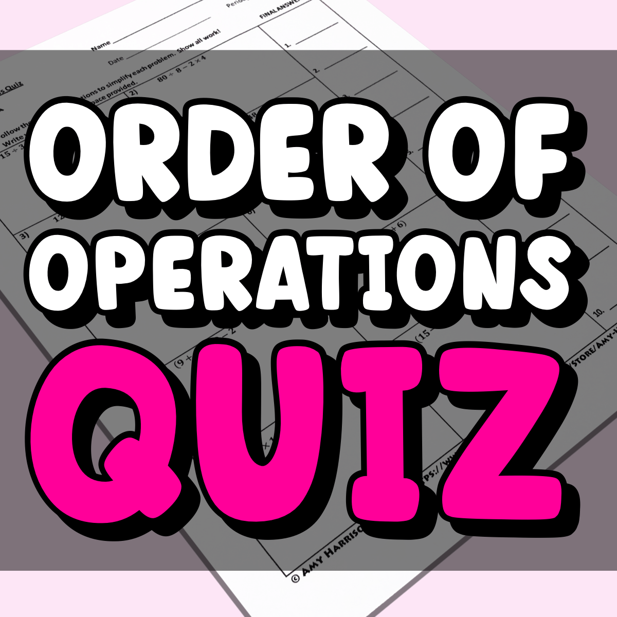 Order-of-Operations-Quiz