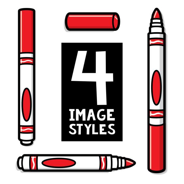 Markers Clip Art