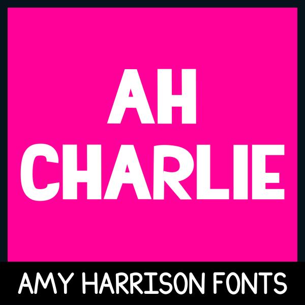 Font AHCharlie
