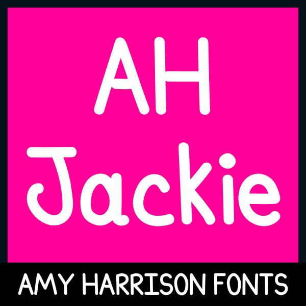 AHJackie Font