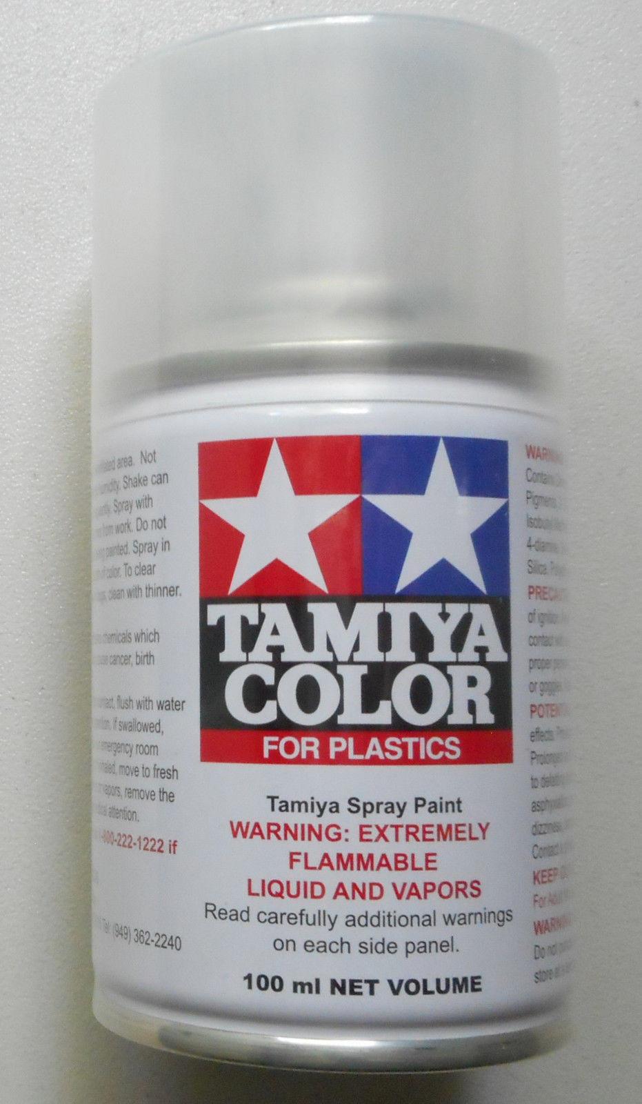Semi Gloss Clear Lacquer Spray Tamiya Paint Hobby Modeling TS-79