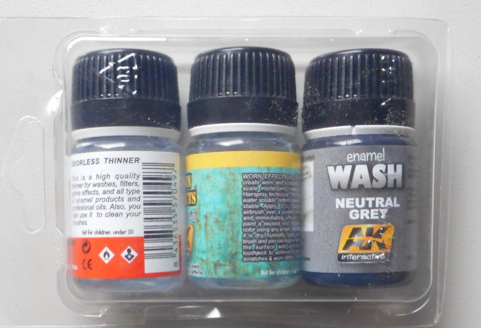 BASIC WEATHERING PAINT MODEL MODELING AK INTERACTIVE ACCESSORY 688