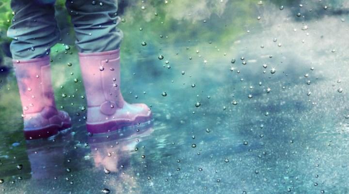 embrace the rain