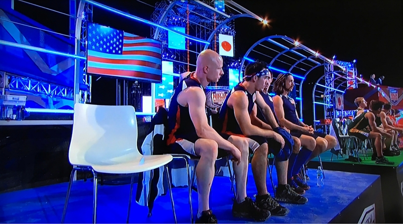 American Ninja Warrior USA v The World on NBC