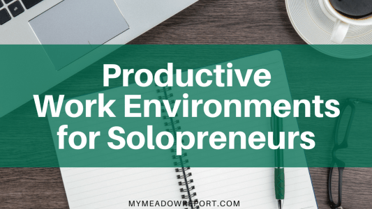 Productive Work Environments for Solopreneurs