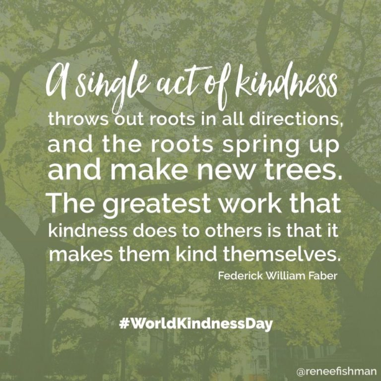 kindness grows roots