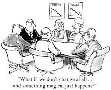 resisting change cartoon