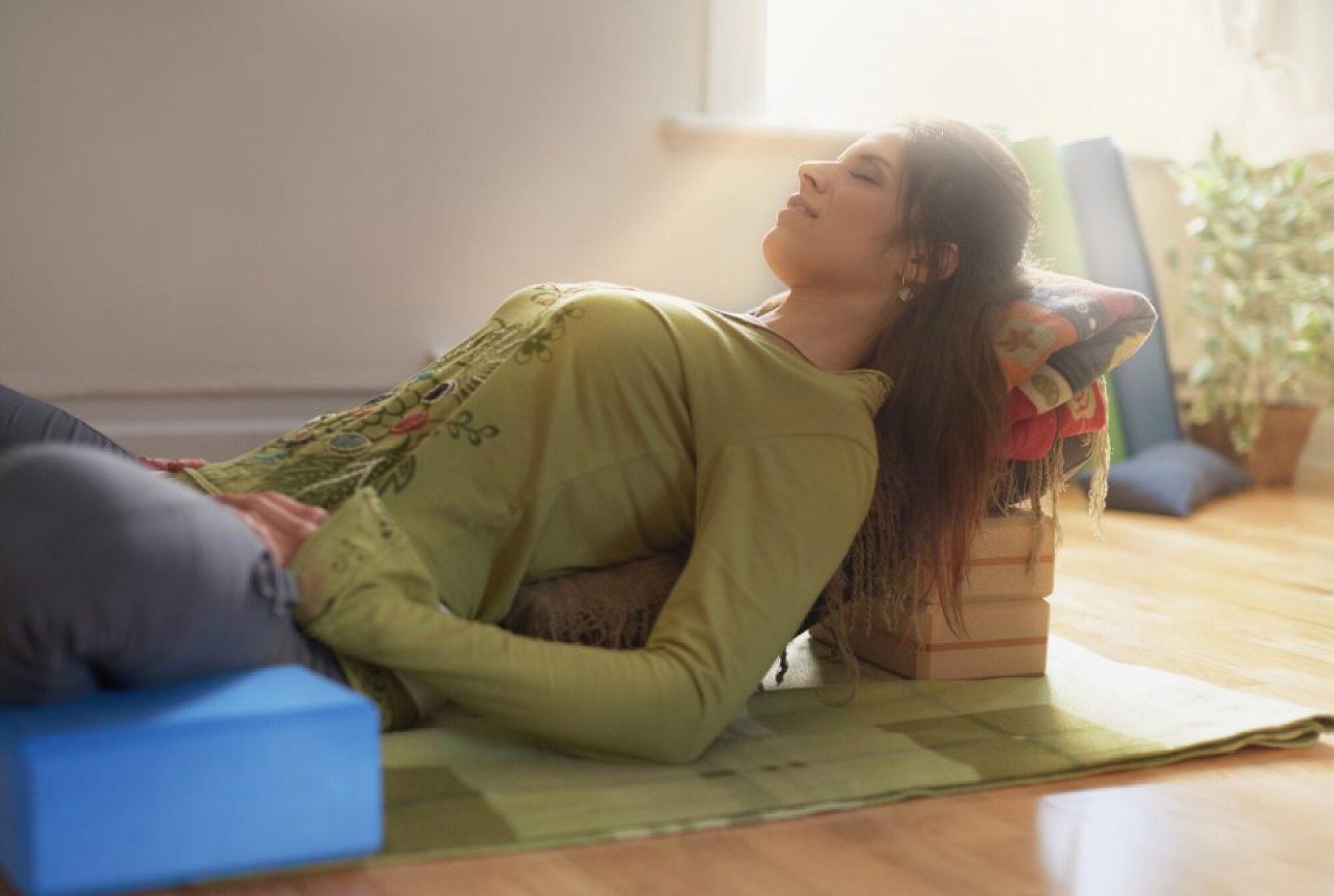 restorative yoga hardest workout