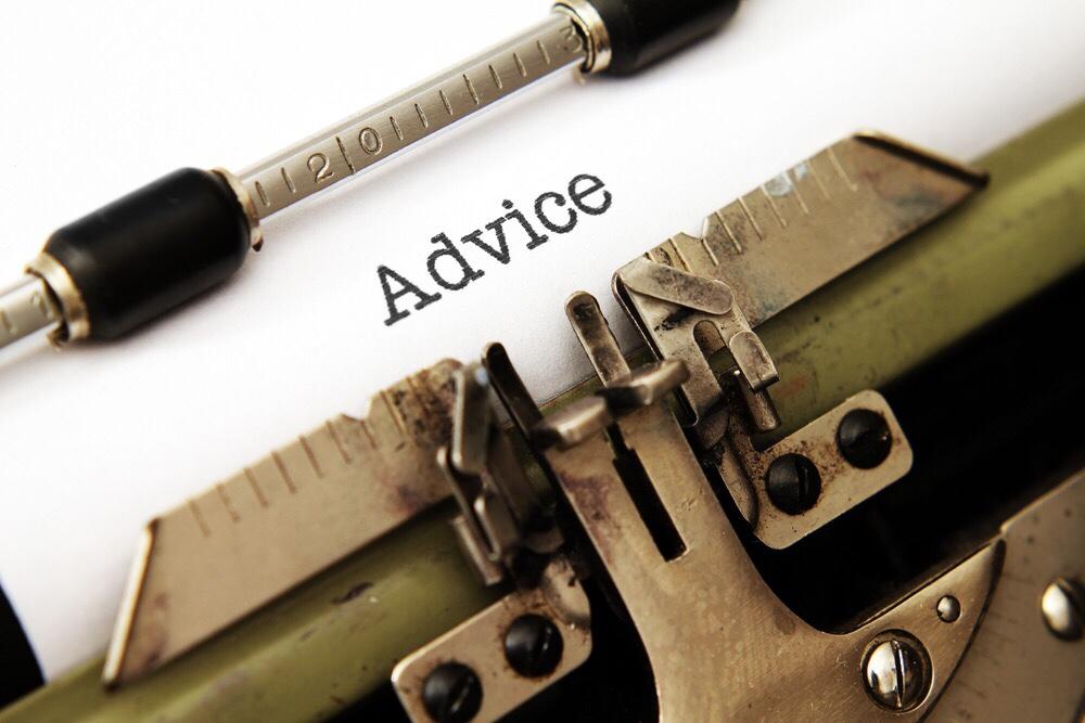 typewriter advice