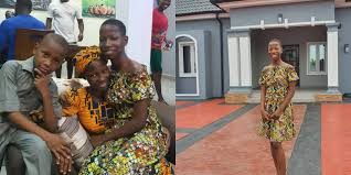 10-year old comedienne, Emanuella builds mother a house
