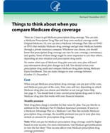 Compare Medicare Part D Coverage