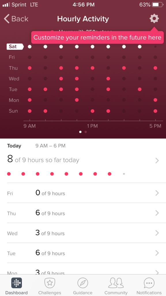 Fitbit Versa Daily Steps