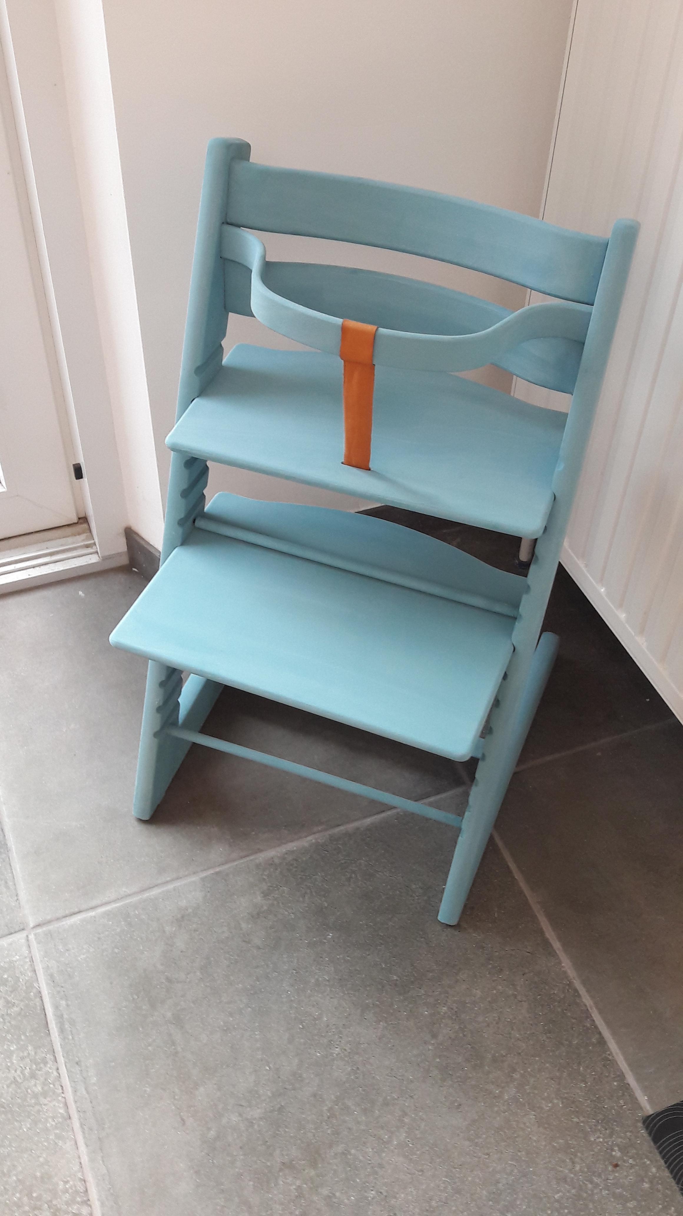 relooking la chaise stokke