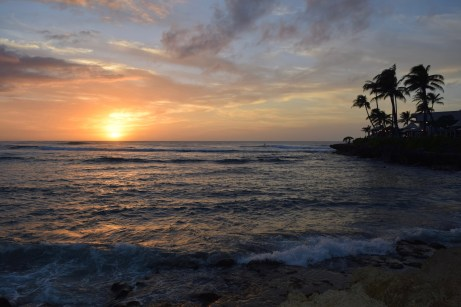 Sunset at Turtle Bay