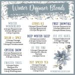 10 Winter Diffuser Blends With Essential Oils My Merry Messy Life