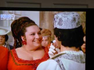 One of the funniest characters of the movie - Klein Röschen (Little Rosie)