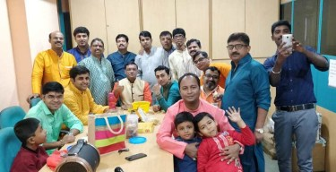 Diwali celebration at the Mumbai office