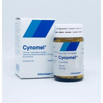 Cynomel Cytomel 25mcg t3