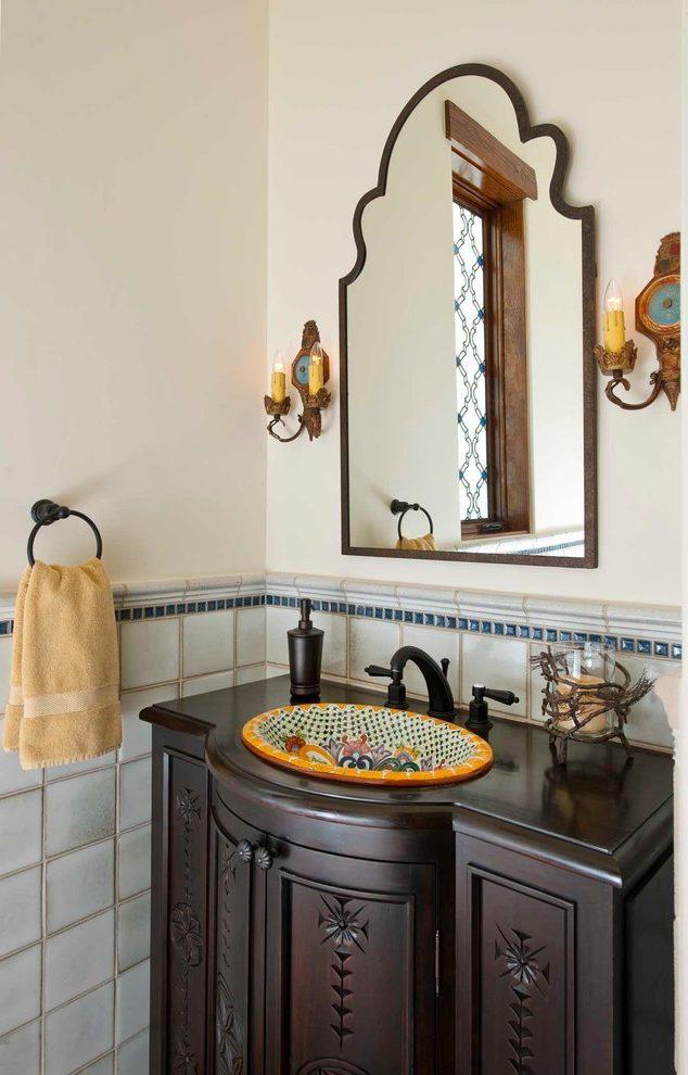 talavera bathroom sink mexican tiles