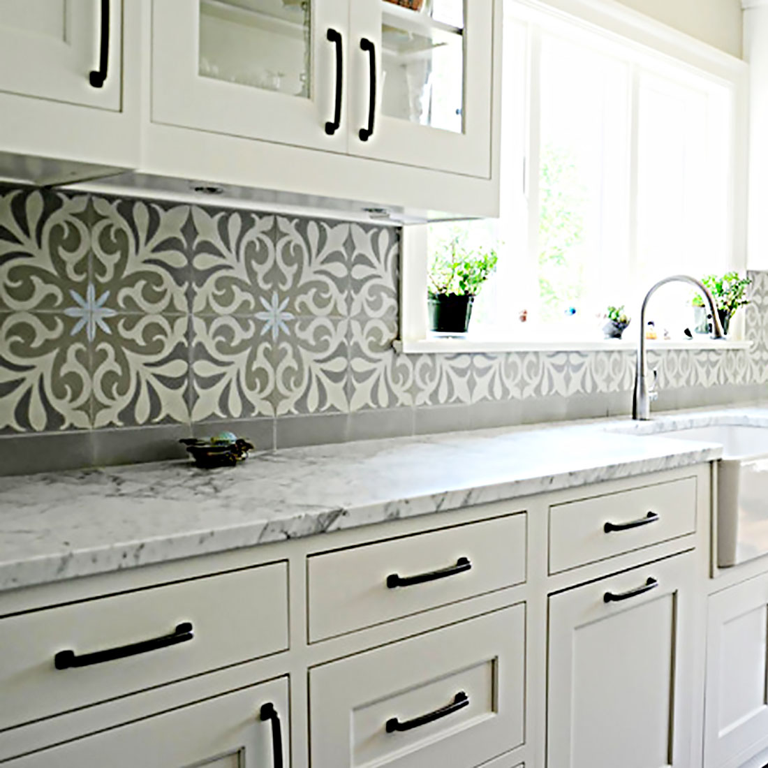 mexican backsplash tiles kitchen outside countertops  and talavera murals for