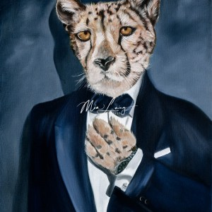 james-bond-leopard-oil-painting-mia-laing-artist
