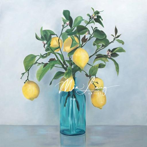 lemon.oilpainting.mialaing.artist