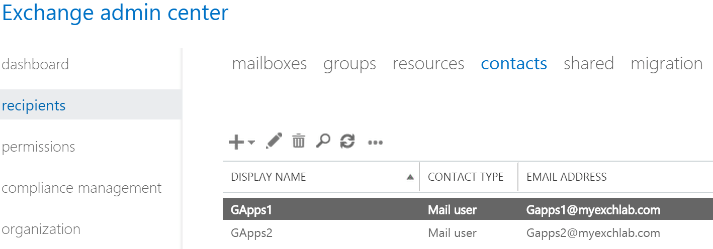 How to configure mail flow coexistence between GApps and