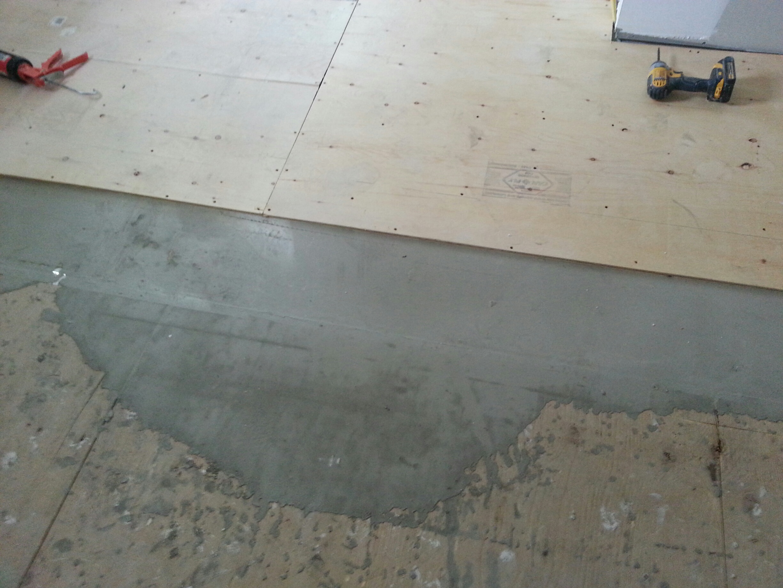 Self Leveling Concrete Floor