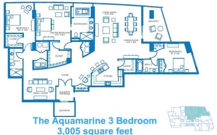 The Aquamarine 3 Bedroom
