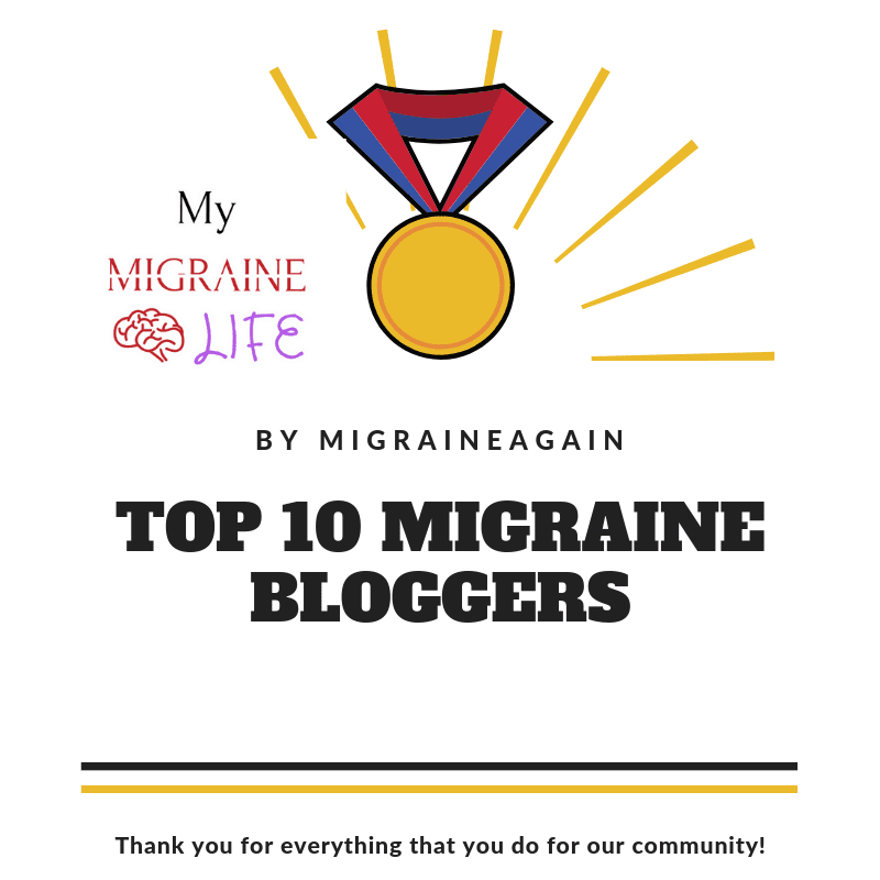 top migraine bloggers of 2019 highlight