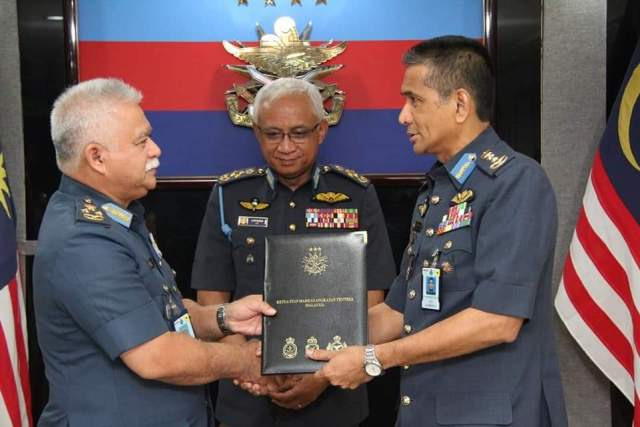 Major-General Dato' Roshaimi bin Zakaria RMAF appointed Acting Chief-of-Staff, Malaysian Armed Forces.