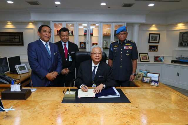 MinDef welcomes  Defence Minsiter Dato' Sri Ismail Sabri Yaakob
