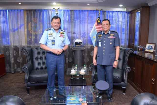 The RMAF thanks MG Dato' Raja Ahmad Ikram for his service and dedication.