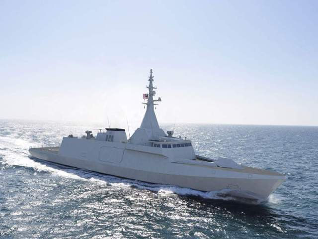 Render of Malaysian Navy's Littoral Combat Ship.
