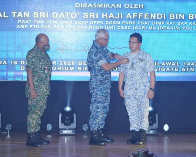 Rear-Admiral Datuk Shamsuddin Ludin as the Director General of BSEP.