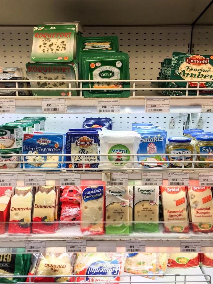 Best Bites in Bora Bora - Local Grocery Store Cheese