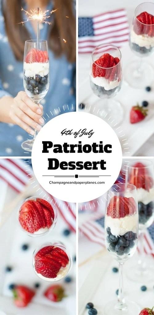 Easy Patriotic Dessert Parfait Recipe