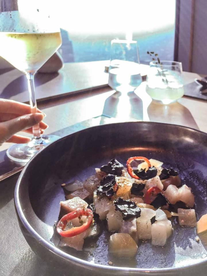 71 Above Dinner Tasting Menu with Wine Pairing