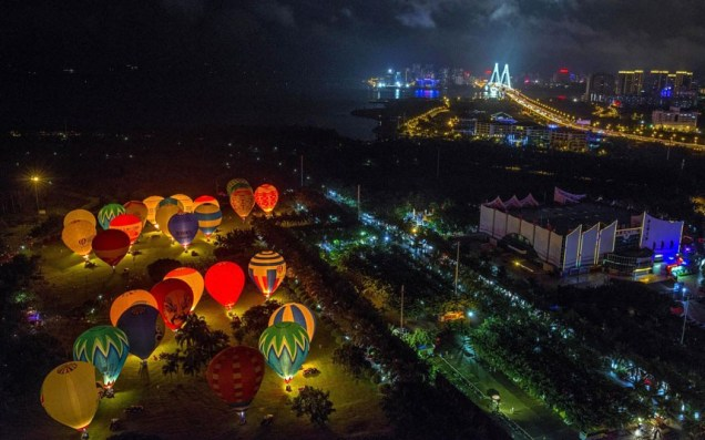 Festival in Haikou, Hainan Island, China, on June 24, 2013.