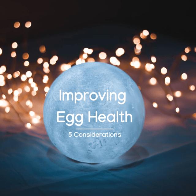 Egg Health and Fertility