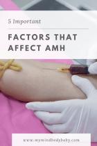 Factors that Affect AMH