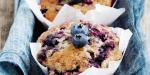 Grain-free Blueberry Muffins